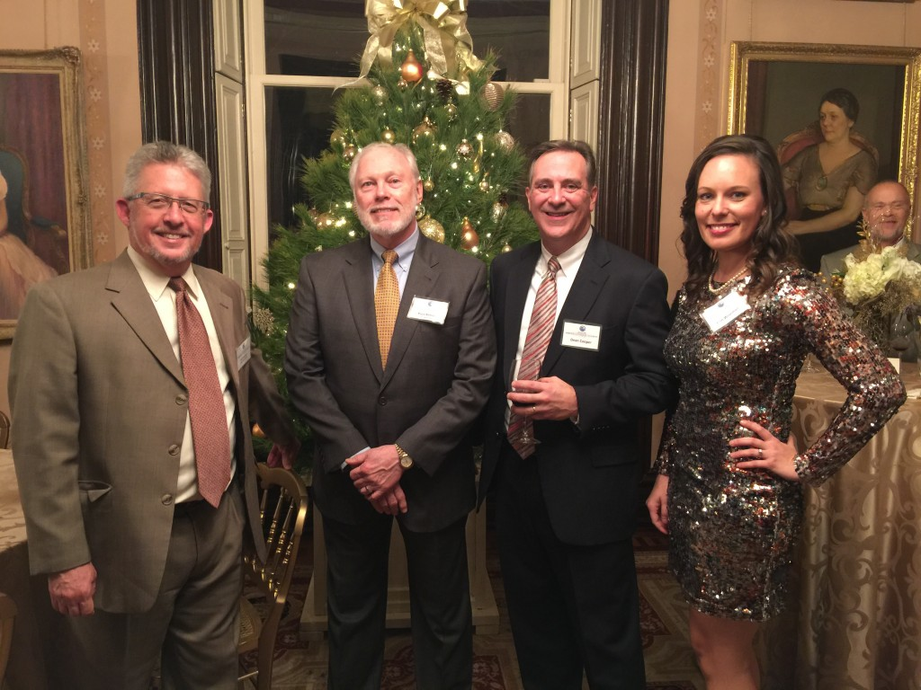 BSE members at the governor's mansion