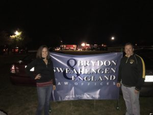 Hamblin and Wiseman Participate in Trunk or Treat